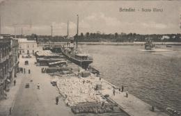 BRINDISI SCALO MERCI-VG16/5/1915- AUTENTICA D´EPOCA 100% - Brindisi