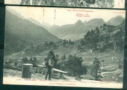 1563 - Cauterets - Vallée De Marcadau - Refuge Vallon - Vue Sur La Vallée D'aratille  De La Terrasse Du Refuge - Abk21 - Cauterets