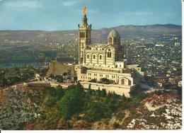 31909     Marseille   Notre Dame De La Garde   Vue Aerienne - Notre-Dame De La Garde, Ascenseur