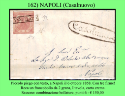 Casalnuovo-00162 - Piego (con Testo) Dall'odierno Casalbuono. - Napoli