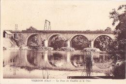 Ah -  Cpa VIERZON - Le Pont De Chaillot Et Le Cher - Vierzon
