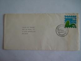 Brazilië Bresil Brasil 1979 Letter Lettre Rio - Bruxelles Cachet De Post Sur Cinderella? Brasiliana 79 - Brazil