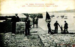 N°34778 -cpa Omonville La Rogue -le Port- - Altri Comuni