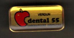 30540-pin's Verdun.laboratoire Dentaire.dental 55.Pomme. - Medical