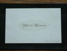 DETRIE - TOMSON Petite Rue Des Dominicains 15 ( Porcelein / Porcelaine - Zie Details Foto ) ! - Cartes De Visite
