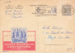 Bier -  Carlsbourg (Ardennes) 1957 - Bruxelles - Publibels