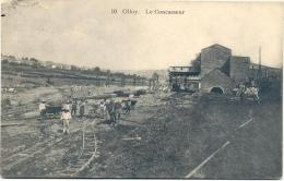 OLLOY-LE CONCASSEUR-SUPERBE-ANIMEE-TOP-CARTE ENVOYEE 1915-VOYEZ 2 SCANS - Viroinval