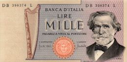 ITALIE : 1000 Lires 1969 (unc) - 1000 Liras