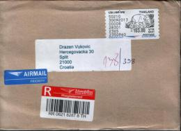 Nice Register Cover From Thailand - ATM - Frama (vignette)
