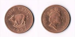 Bermuda  1 Cent 1997 - Bermudes