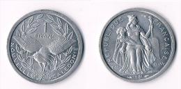 New Caledonia  1 Franc 1981 - Nouvelle-Calédonie
