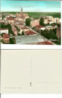 Renazzo (fraz. Di Cento - Prov. Ferrara): Panorama. Cartolina B/n Acquerellato Anni '50. - Ferrara