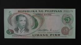 Philippines - 5 Piso - 1970 - P 148a - Unc - Look Scan - Philippinen