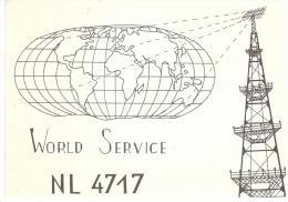 CARTE RADIO - QSL - CARTE RADIO QSL - HOLLANDE - NEDERLAND - NETHERLANDS - BREDA - 1979. - Radio Amateur