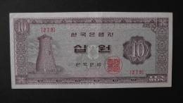 South Korea - 10 Won - 1965 - P 33e - XF+ - Look Scan - Korea, South