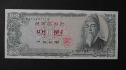 South Korea - 100 Won - 1965 - P 38a - Unc - Look Scan - Korea, South