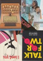 5 POSTCARDS :  TELEPHONE / TELEFOON / PHONE / TELEFON   (2 Scans) - Postkaarten
