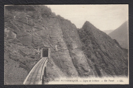 38  Ligne Train Saint Georges De Commiers La Motte D´Aveillans La Mure  Mine Anthracite Matheysine - La Mure