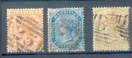 C122 - MAURICE YT 57 - 58 - 61 Obli - Mauritius (...-1967)