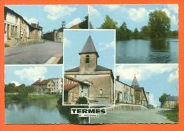 """Dpt 08  Termes  """"  Carte Multivues  """" Cpsm GF - France"""