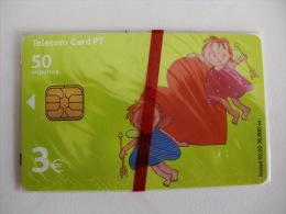 Phonecard/ Telécarte Telecom Card Coração - 50 Impulsos Portugal Tirage 30000 Ex. - Portugal