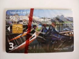 Phonecard/ Telécarte Telecom Card Moliceiros Aveiro 50 Impulsos Portugal - Portugal