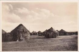 Djibouti Village Indigene Des cases Photo Postcard