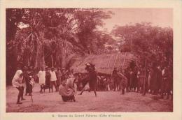 Cote D'Ivoire Ivory Coast Danse du Grand Fetiche