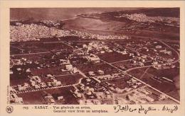 Morocco Rabat General View From An Aeroplane 1920-30s - Rabat