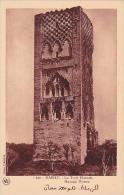 Morocco Rabat Hassan Tower 1920-30s - Rabat