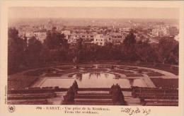 Morocco Rabat View From The Residence 1920-30s - Rabat