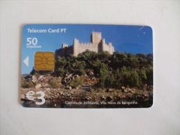 Phonecard/ Telécarte Telecom Card Castelo De Almourol - Vila Nova Da Barquinha 50 Impulsos Portugal - Portugal