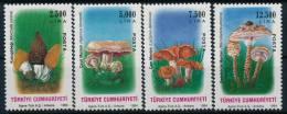 Turkey Türkei Mushrooms Pilze Set (4) °BM0808 MNH - Paddestoelen