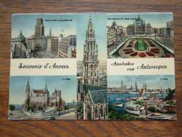 Aandenken Van Antwerpen / Souvenir D´Anvers - Anno 1955 ( Zie Foto Voor Details ) !! - Belgique