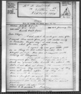 1942 Airgraph RAF Middle East Forces - Newport - 1939-45