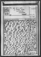 1944 Airgraph Indian Command - Rutherglen, Lanarkshire - 1939-45