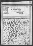 1944 Airgraph, Indian Command - Rutherglen, Lanarkshire - 1939-45