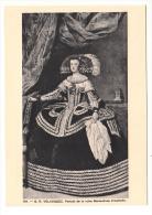 Arts - Peinture - D.R Velasquez - Portrait De La Reien Marie Anne D'Autriche - Editeur: Naville N° 104 - Malerei & Gemälde