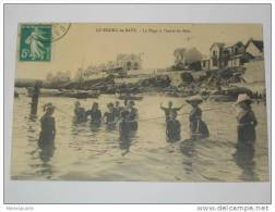 PL2 -    Bourg De Batz Dept44 -  La Plage à L´heure Du Bain 1912 - Batz-sur-Mer (Bourg De B.)