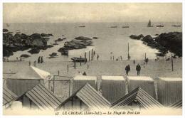 44  LE CROISIC  La Plage De Port Lin - Le Croisic