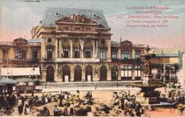 50 CHERBOURG PLACE DU CHATEAU LE THEATRE - Cherbourg
