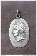 """Très Beau Pendentif Ancien Médaille """"Tête De Maure"""" Armoiries Corse - Argent Poinçonné 925 - 3gr - Pendentifs"""