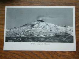 L ' ETNA Visto da Catania Anno 1937 ( zie foto voor details ) !!