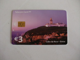 Phonecard/ Telécarte Telecom Card Cabo Da Roca E Farol  Portugal - Portugal