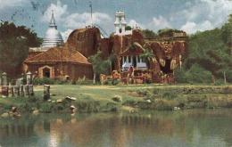 CEYLON - ISURUMUNIYA TEMPLE ANURADHAPURA, Seltene Schöne Karte 1974 Gelaufen (Kleinformat), Mit 2 Sondermarken ... - Sri Lanka (Ceylon) (1948-...)