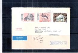 Lettre Express Vers Angleterre - Oiseaux (à Voir) - 1931-Aujourd'hui: II. République - ....Juan Carlos I