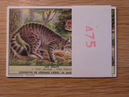 LES CHATS 475  Liebig Série Complète De 6 Chromos Trading Cards Chromo - Liebig