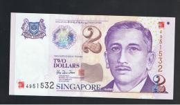 SINGAPUR - SINGAPORE -  2 Dolar  2000 SC   P-45 - Singapore