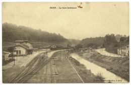 BRIEY Rare La Gare Intérieure (Babillon) Meurthe & Moselle (54) - Briey