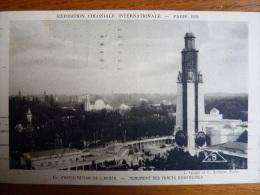 France, Paris, Expo.  Coloniale Internationale  Paris 1931. Participation De L'armée, Monuments Des Forces D'outre-mer - Exhibitions